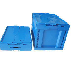 plastic collapsible crate